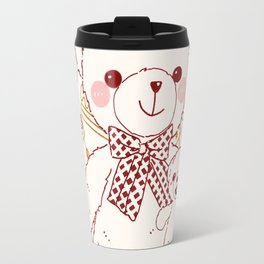 The Adventures of Bear and Baby Bear-Pastry Travel Mug