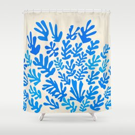 Collage of Leaves, #4- Oceania, by Henri Matisse Shower Curtain