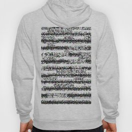 A Pointillist Arrangement of Black and White Hoody