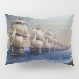 Parade of the Black Sea Fleet by Ivan Aivazovsky Pillow Sham