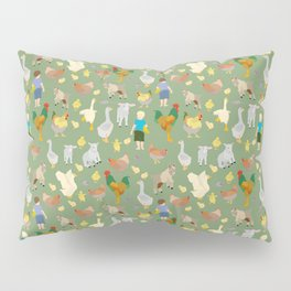 Playtime on the Farmyard Pillow Sham