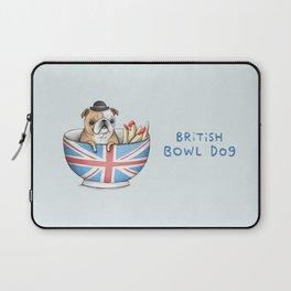 British Bowl Dog Laptop Sleeve
