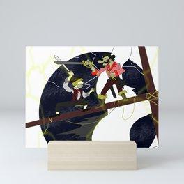 Pirate Duel Mini Art Print
