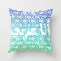 arab Throw Pillows featuring I am Arab  by princess jojo