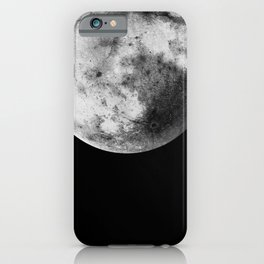 Moon and the Night Sky iPhone Case