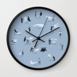 A Spotter's Guide to Rare and Unusual Patronuses Wall Clock