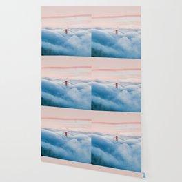 Golden Gate Bridge Above the Clouds Wallpaper