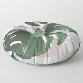 Monstera Play Floor Pillow
