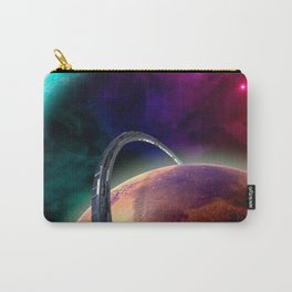 Double Planets Carry-All Pouch