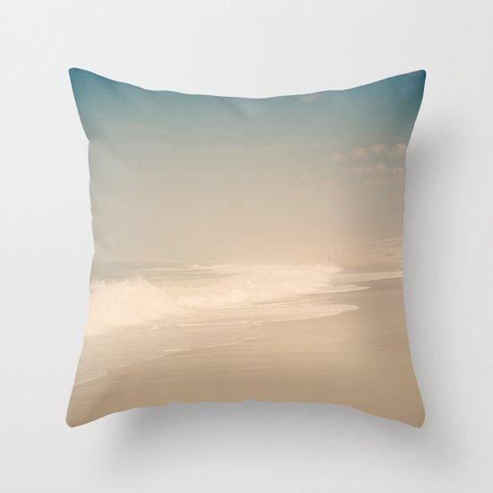 Beach & Waves Throw Pillow