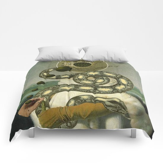 IMAGINING MYSELF Comforters