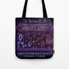 Simon's Vania Castle Quest Tote Bag