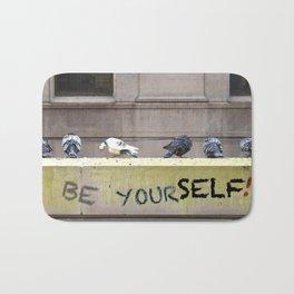 Be Yourself! | Nadia Bonello Bath Mat