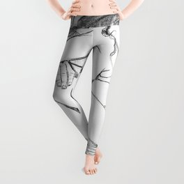 Sorrow (After Vincent Van Gogh)  Leggings