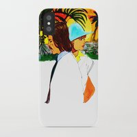 hollywood iPhone & iPod Cases featuring Hollywood by Ecsentrik