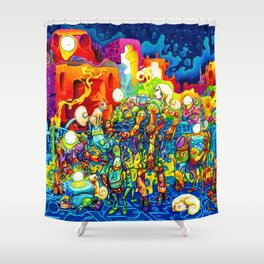Chatbots Shower Curtain