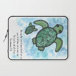A peaceful swim Laptop Sleeve