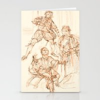 hamlet Stationery Cards featuring Scenes from Hamlet  by Kathryn Gabrielle Mauno
