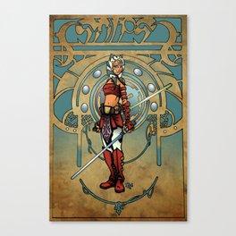 Snips Canvas Print