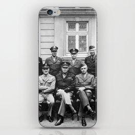 American World War 2 Generals iPhone Skin