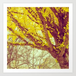 Yellow Dream Art Print