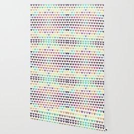 Colorful hearts III Wallpaper