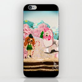 Shepherdess & Frosting Poodle (Candy Christmas Series) iPhone Skin