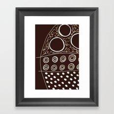 Polka Framed Art Print