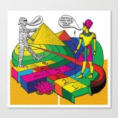 The mummy returns!  Canvas Print