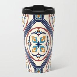Beautiful Morocan decorative elements pattern Travel Mug