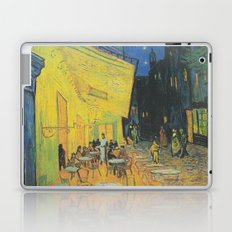 Cafe Terrace at Night by Vincent van Gogh Laptop & iPad Skin