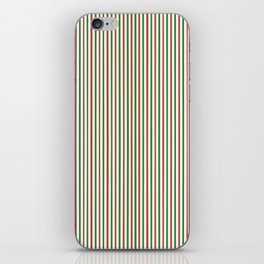 Christmas Time for Stripes iPhone Skin