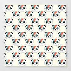 Bowie Panda  Canvas Print