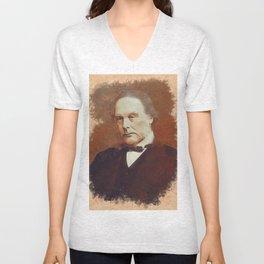 Joseph Lister, Medical Pioneer Unisex V-Neck