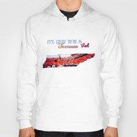 tennessee Hoodies featuring Tennessee Volunteers by megan matthews