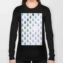 raindrops Long Sleeve T-shirt