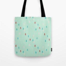 Raindrop Repeat Tote Bag