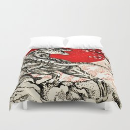 Japan Tiger Duvet Cover