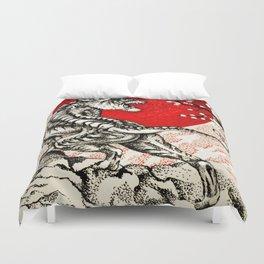 Japan Tiger Duvet Cover