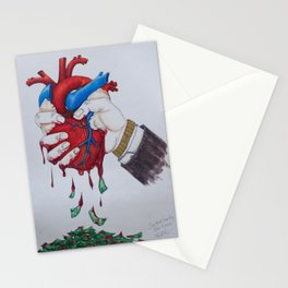 Sin Most Deadly Stationery Cards