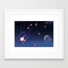 Celestial Hydra Framed Art Print