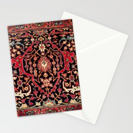 Bijar Poshti Kurdish Northwest Persian Rug Print Stationery Cards