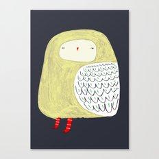 Fat Owl Canvas Print