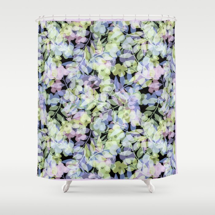 The leaf in dreams Shower Curtain