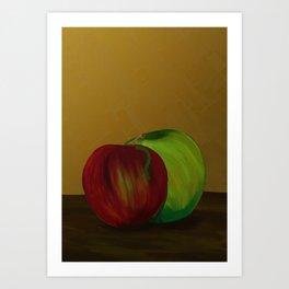 Them's Apples Art Print