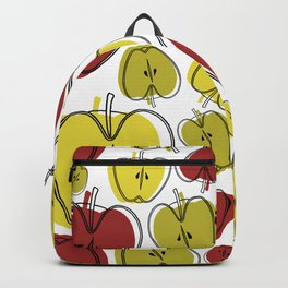 Seamless Apple Surface Pattern Design Backpack