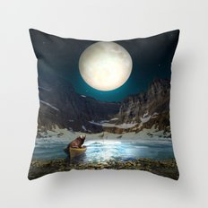 Somewhere You Are Looking At It Too II Throw Pillow