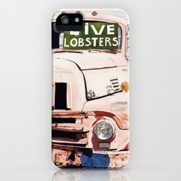 Live Lobsters iPhone Case