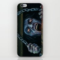 evil dead iPhone & iPod Skins featuring THE EVIL DEAD by chris zombieking