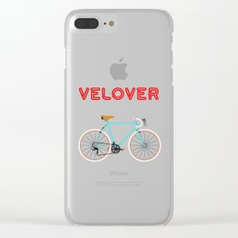 VeLover - Girl – June 12th – 200th Birthday of the Bicycle Clear iPhone Case